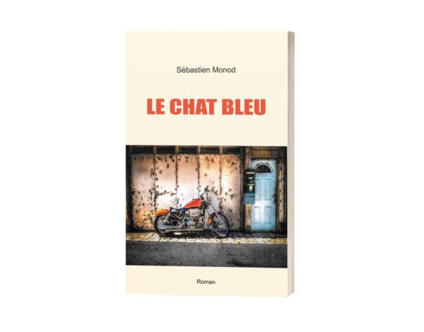 """Couverture du roman """"Le Chat bleu"""""""
