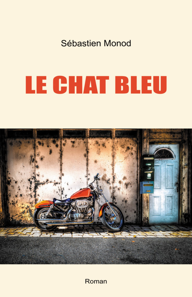 "Couverture du roman ""Le Chat bleu"""
