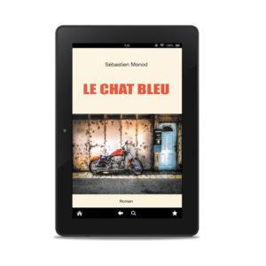 """Couverture ebook """"Le Chat bleu"""""""