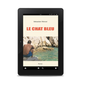 Couverture ebook Le Chat bleu