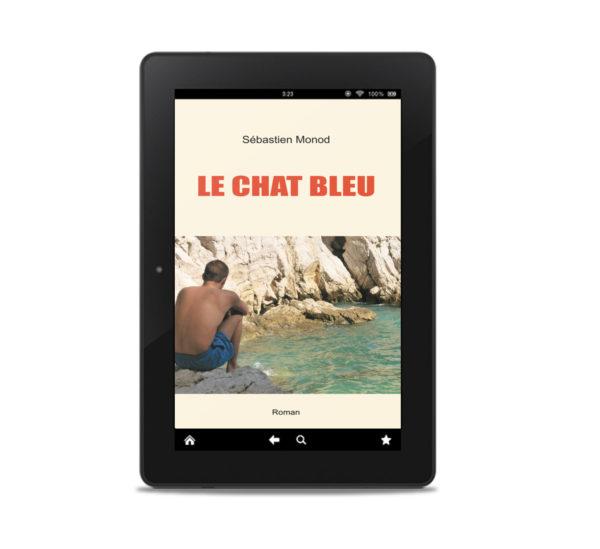 Couverture ebook Le Chat bleu